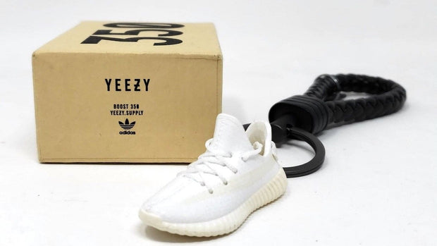 Adidas Yeezy Boost 350 V2 Cream 3D Keychain - 3D Kicks Tech