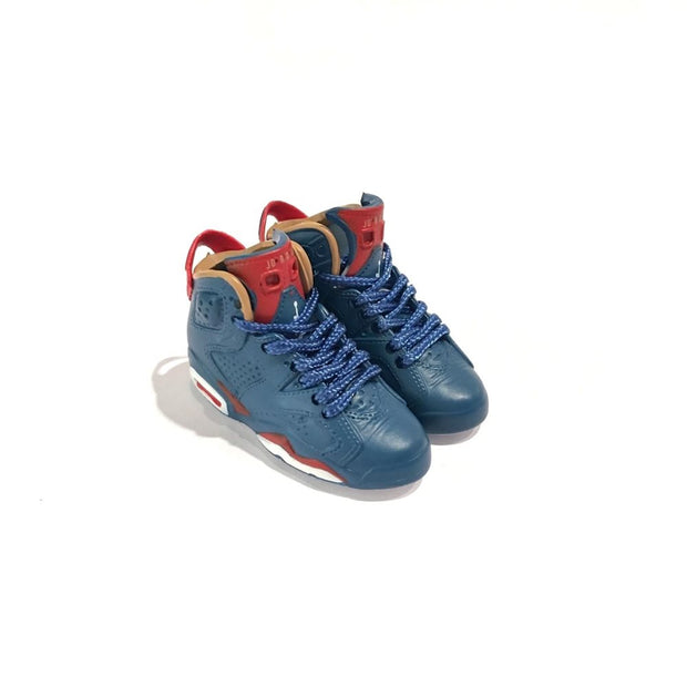 AJ6 Doernbecher 3D Keychain - 3D Kicks Tech