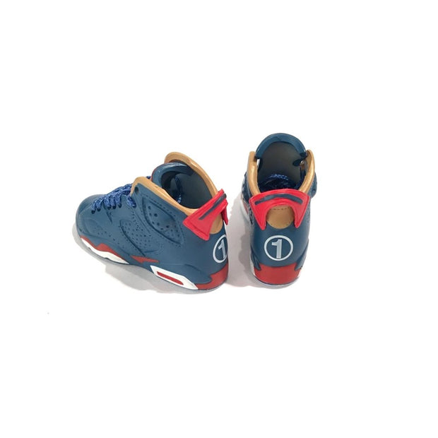 Air Jordan 6 Doernbecher 3D Keychain - 3D Kicks Tech