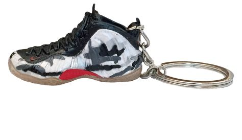 Air Foamposite Fighter Jet 3D Keychain - 3D Kicks Tech