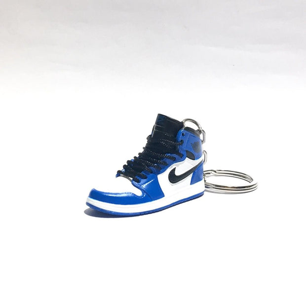 Air Jordan 1 Game Royal 3D Keychain - 3D Kicks Tech