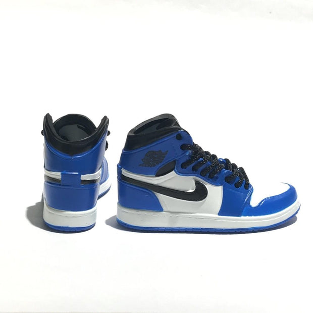 AJ1 Game Royal 3D Keychain - 3D Kicks Tech