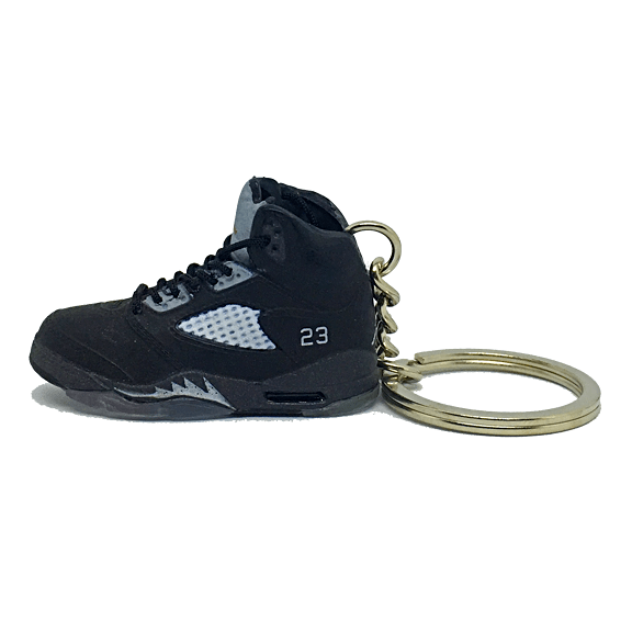 Air Jordan 5 Metallic 3D Keychain - 3D Kicks Tech