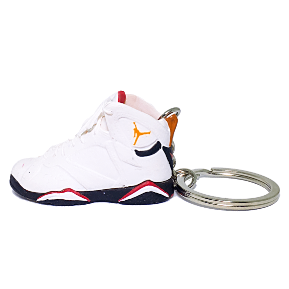 Air Jordan 7 Cardinal 3D Keychain - 3D Kicks Tech