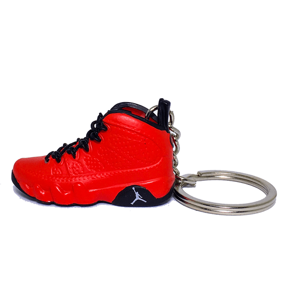 Air Jordan 9 Motorboat 3D Keychain - 3D Kicks Tech