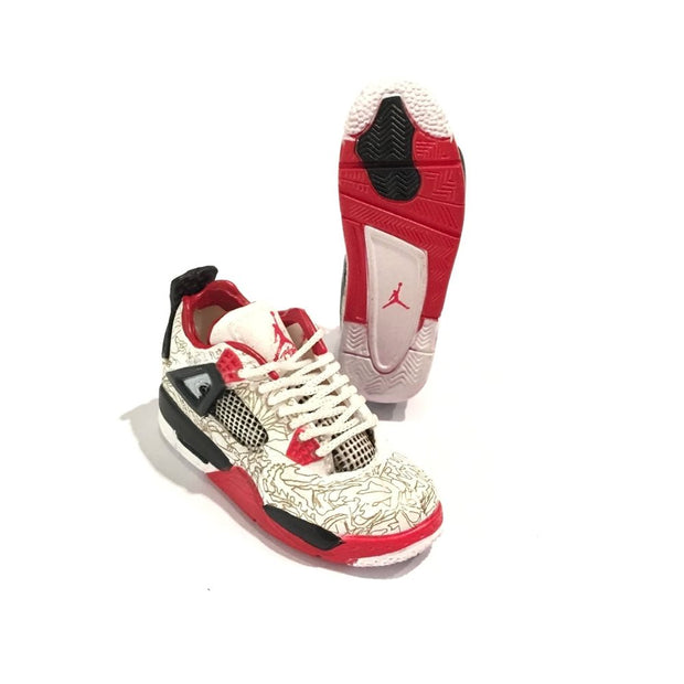 Air Jordan 4 Laser 3D Keychain - 3D Kicks Tech