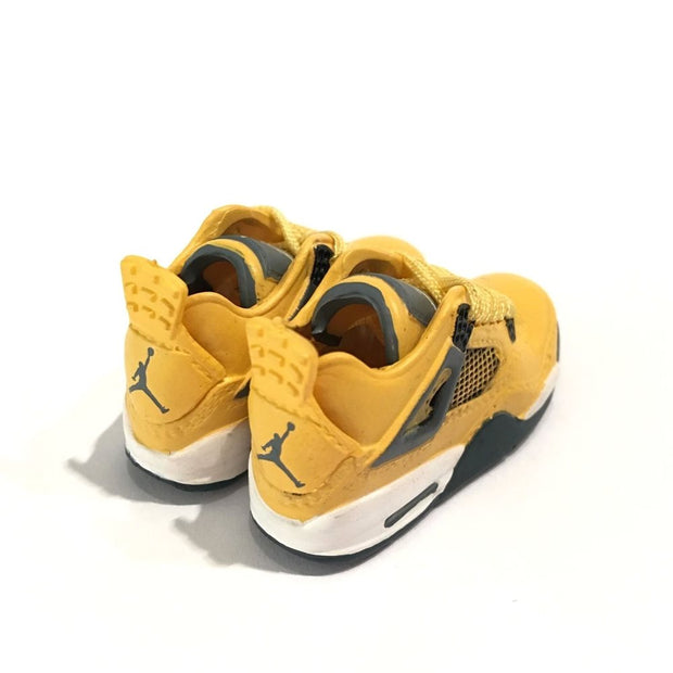 Air Jordan 4 Lightning 3D Keychain - 3D Kicks Tech