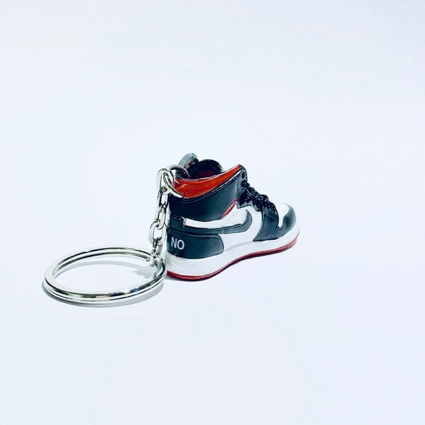 "AJ1 ""Not for Resale"" Varsity Red 3D Keychain - 3D Kicks Tech"