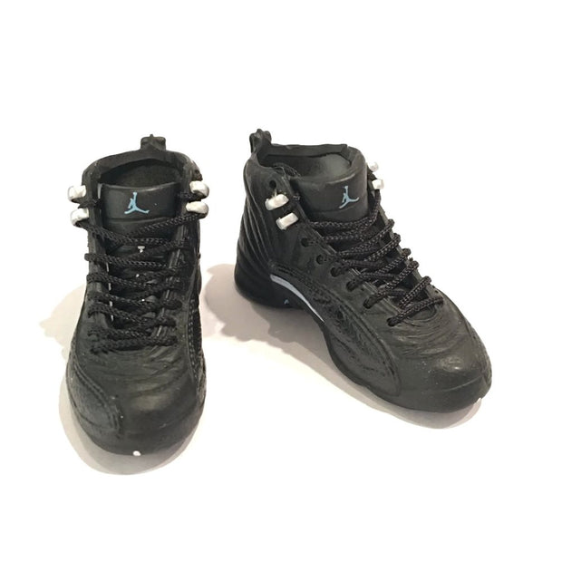 Air Jordan 12 Nubuck 3D Keychain - 3D Kicks Tech