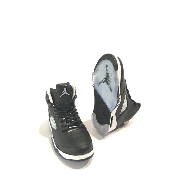 Air Jordan 5 Oreo 3D Keychain - 3D Kicks Tech