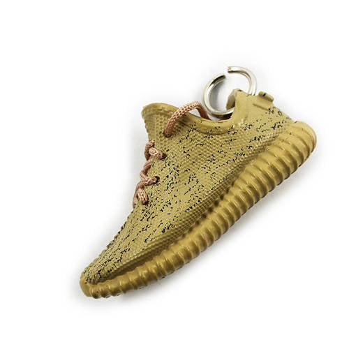 YZY Boost 350 V1 Oxford Tan 3D Keychain - 3D Kicks Tech