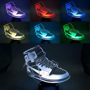 3D Sneaker LED AJ 1 Off-White