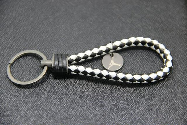 Woven Leather Rope Keychain - 3D Kicks Tech