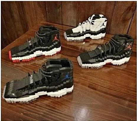 Air Jordan 11  LEGO Puzzle - 3D Kicks Tech