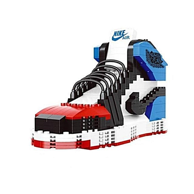 AJ1 Inspired LEGO Puzzle - 3D Kicks Tech