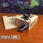 3D Kicks YZY Boost 350 V1/V2 Sneaker Keychain Combo Pack - 3D Kicks Tech