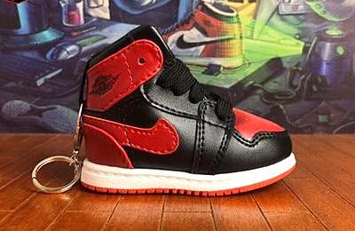 AJ 1 Sneaker Bag Charm - 3D Kicks Tech
