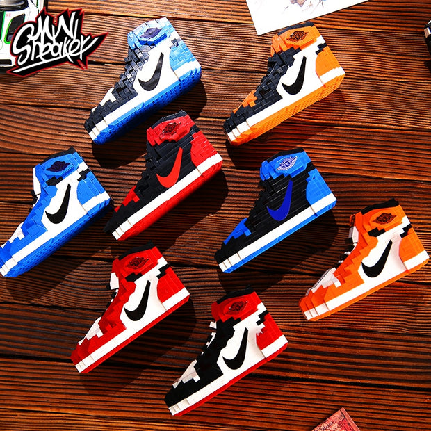 "Air Jordan 1 ""Reverse Shattered Backboards"" Sneaker LEGO - Nickstechcorner"