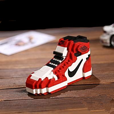 "AJ1 ""Chicago"" Sneaker LEGO - 3D Kicks Tech"