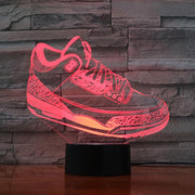 3D Sneaker LED Air Jordan 3 OG