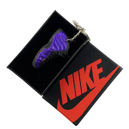 Air Foamposite Phoenix Suns 3D Keychain - 3D Kicks Tech