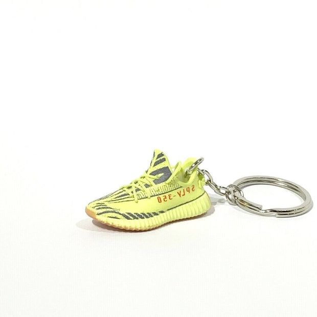 YZY Boost 350 V2 Semi Frozen 3D Keychain - 3D Kicks Tech