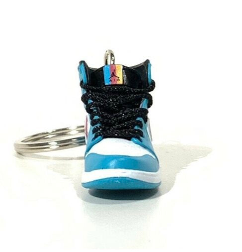 Air Jordan 1 South Beach 3D Keychain - 3D Kicks Tech