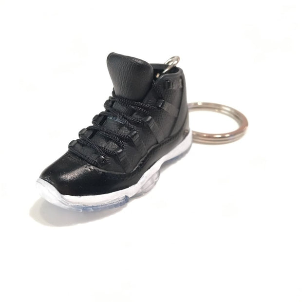 AJ 11 Spacejam 3D Keychain - 3D Kicks Tech