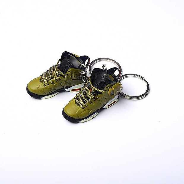 AJ6 Travis Scott 3D Keychain - 3D Kicks Tech
