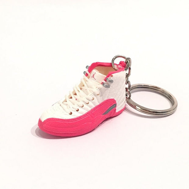 Air Jordan 12 Valentines Day 3D Keychain - 3D Kicks Tech