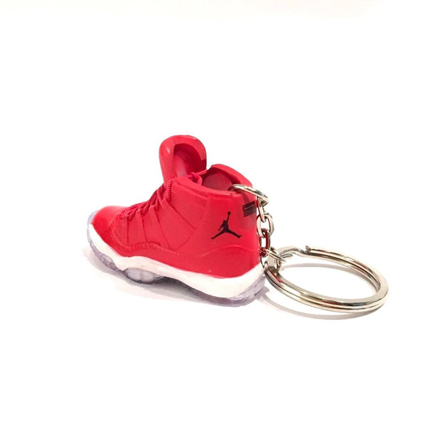 Air Jordan 11 Win Like 96 3D Keychain - 3D Kicks Tech