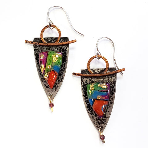 Aralyn Earrings by Sue Savage Jewelry
