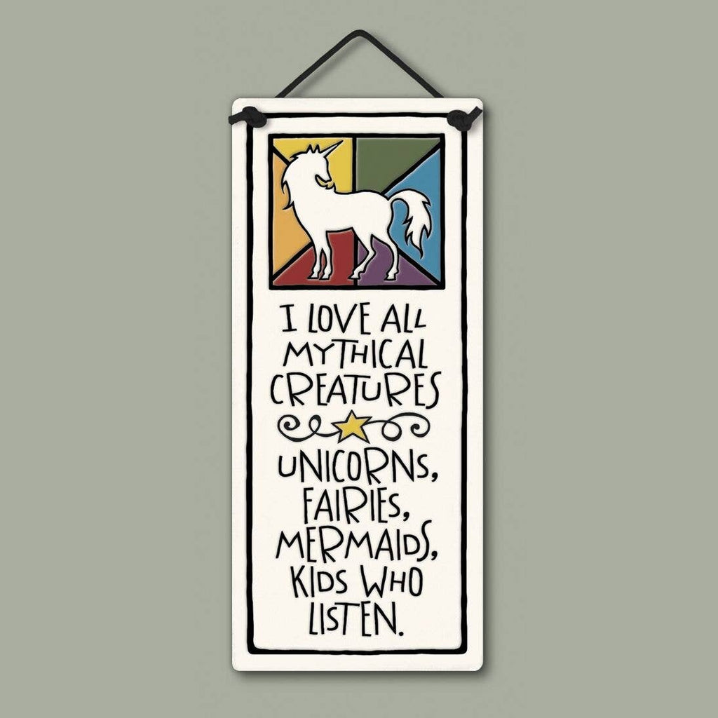 Mythical Creatures Wall Plaque