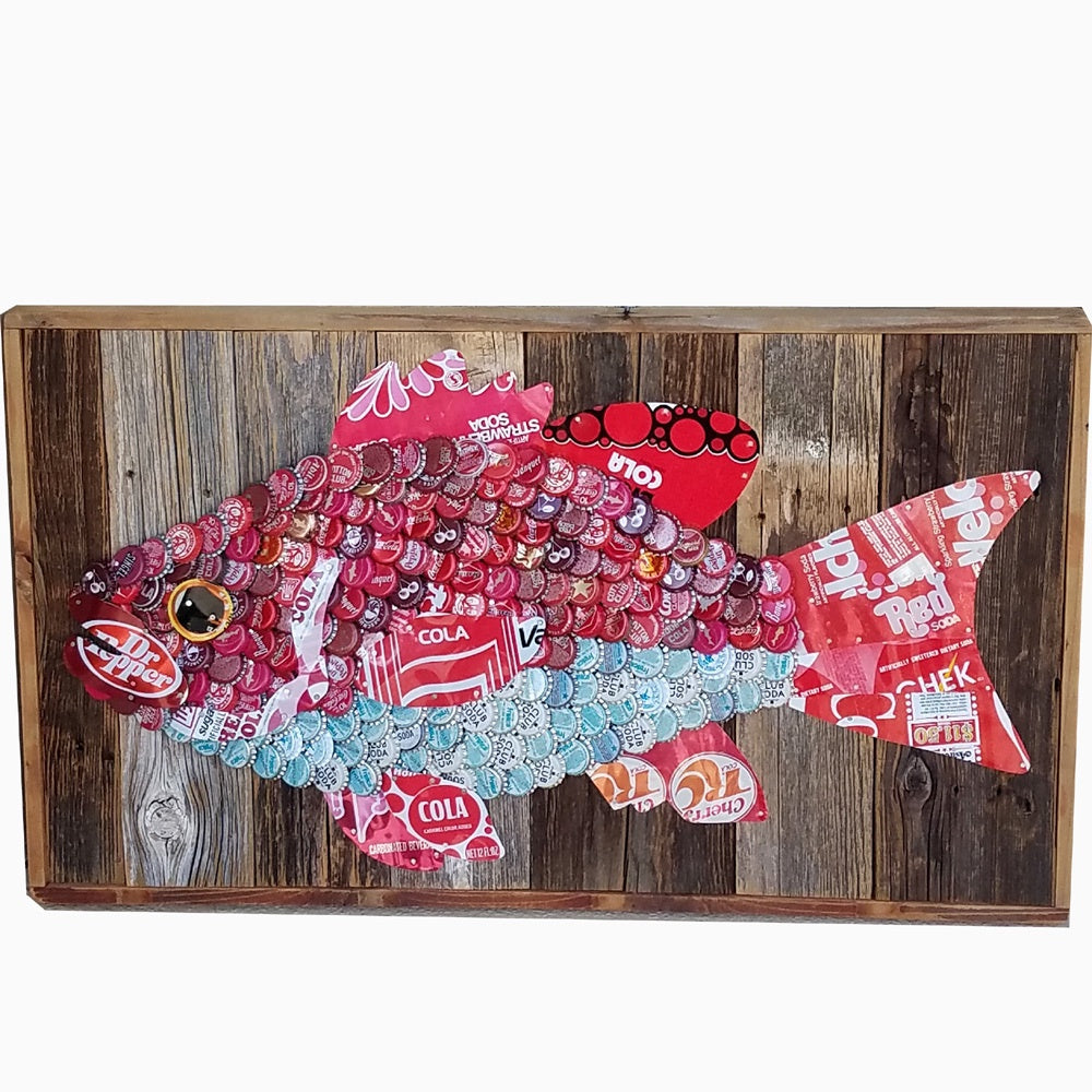 Folk Art Red Snapper
