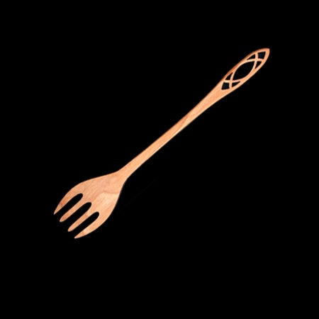 "Serving Fork 6""-Reflecting"