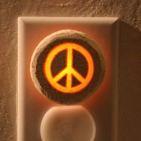 Glow Nightlight-Peace