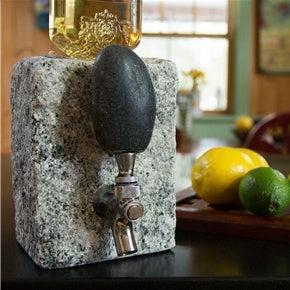 Beverage Dispenser-Grey Granite