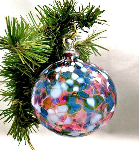 Blown Glass Ornament-Secret of the Sea