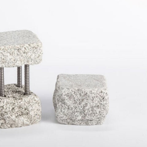 Dispenser Stand-Short Gray | Funky Rock Desings | Random Acts of Art | Naples Florida