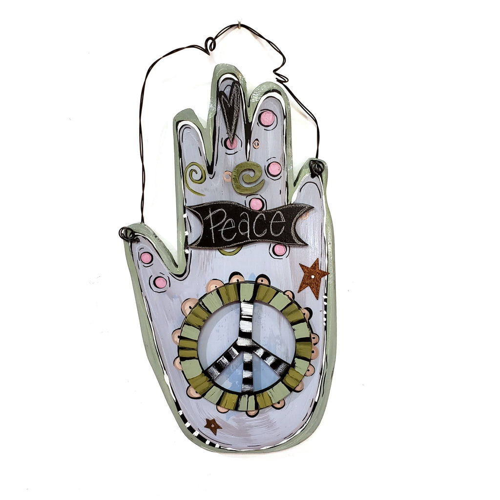Spirit Hand Wall Hanging-Peace