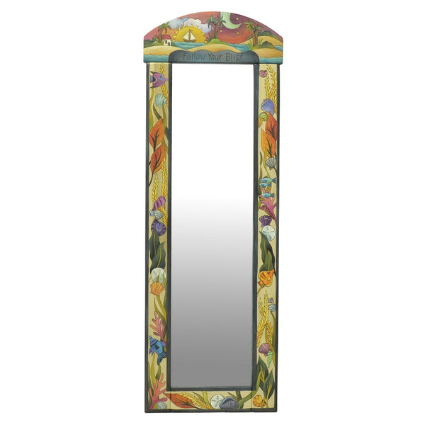 Wardrobe Wall Mirror-Tropical
