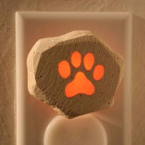 Glow Nightlight-Dog Paw