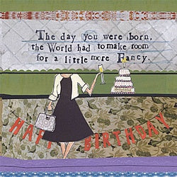 Card-Fancy Happy Birthday