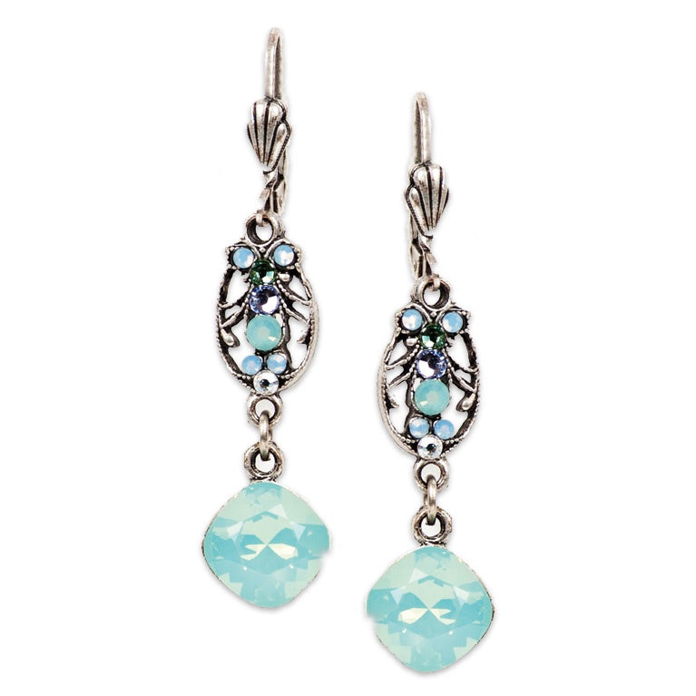 Pacific Opal Victorian Earrings