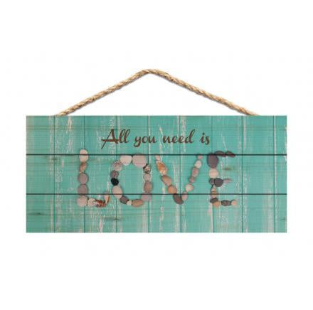 Hanging Sign-All You Need is Love
