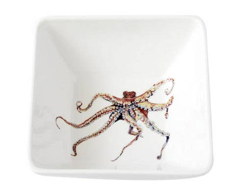 Square Bowl-Octopus