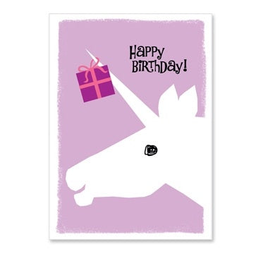 Card-Unicorn Happy Birthday