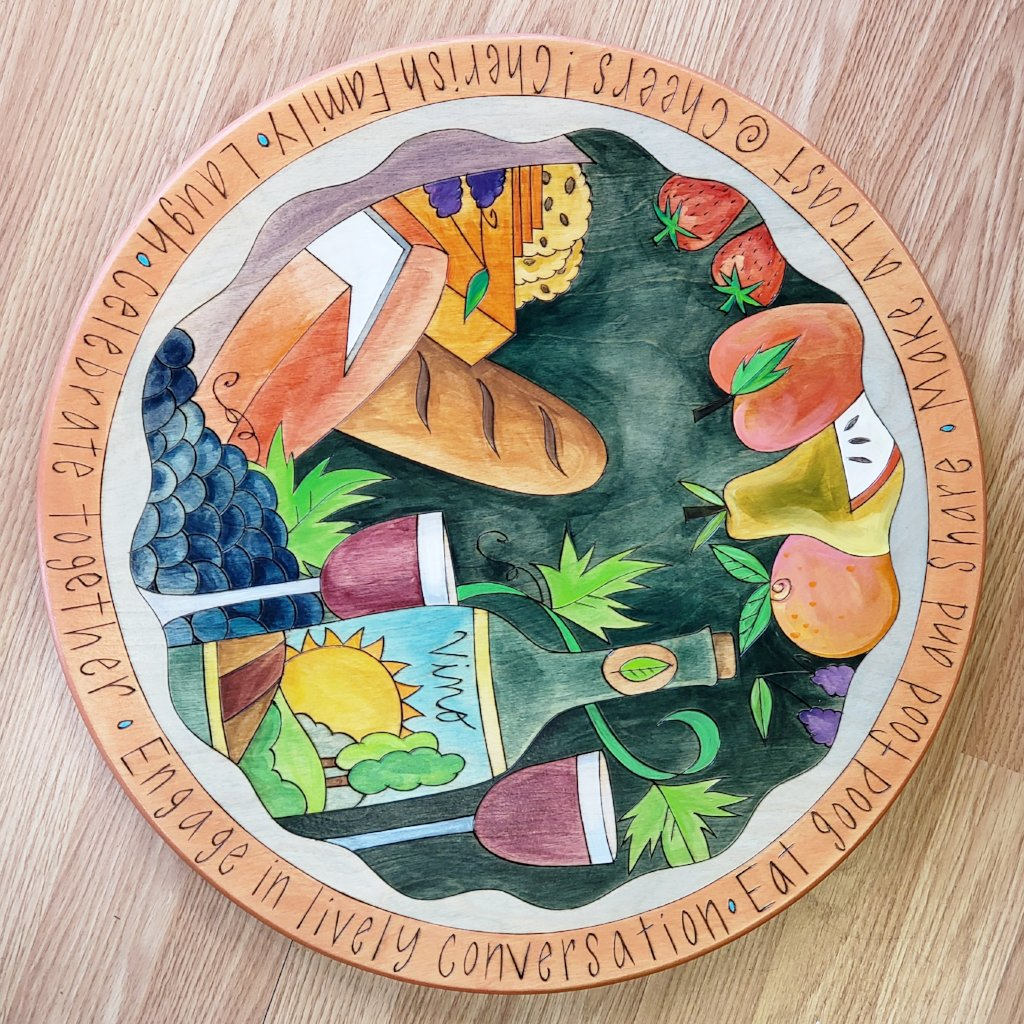 "Lazy Susan 20""-Celebrate Together"