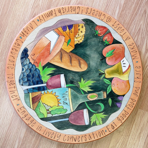 "Sticks Lazy Susan 20""-Celebrate Together"