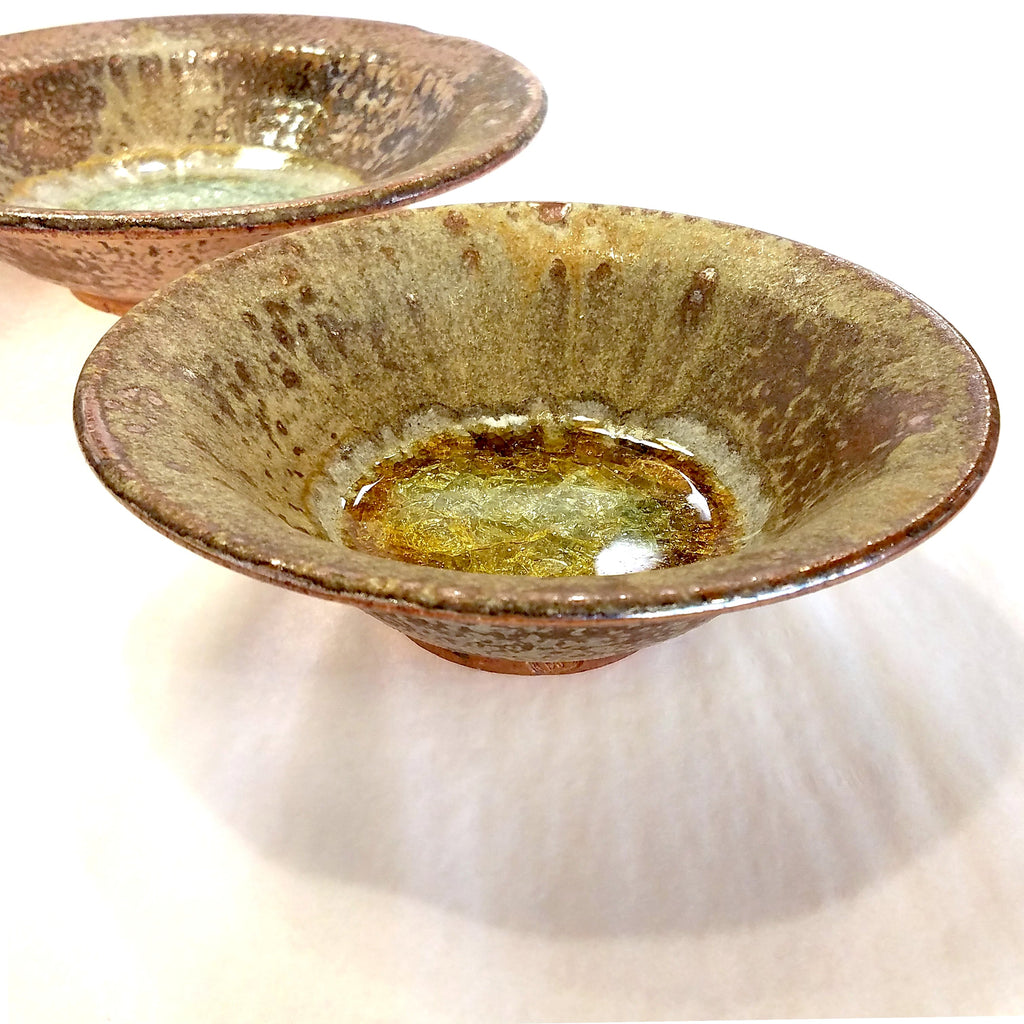 Flared Bowl-Small-Copper with Glass